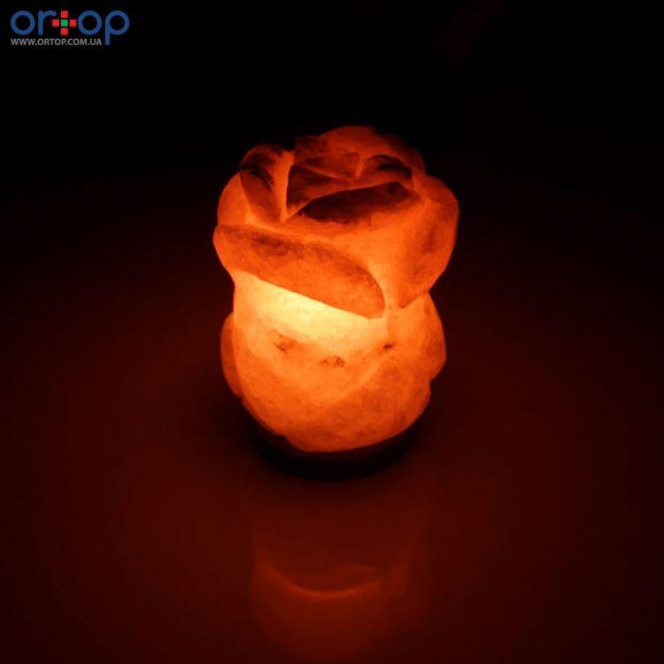 Соляная лампа SALTKEY ROSE (Роза) red 5,5 кг