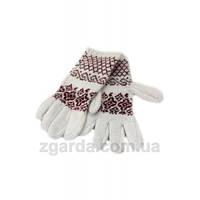 Ангоровые стильные женские перчатки