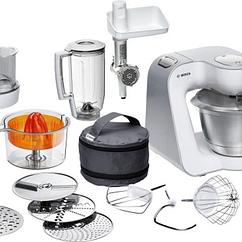 Кухонная машина Bosch MUM 58259 1000 Вт Белый/Серебристый (F00144590)