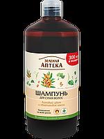 Зеленая Аптека  Шампунь для сухих волос «Липовый цвет и облепиховое масло»  1000 ml.