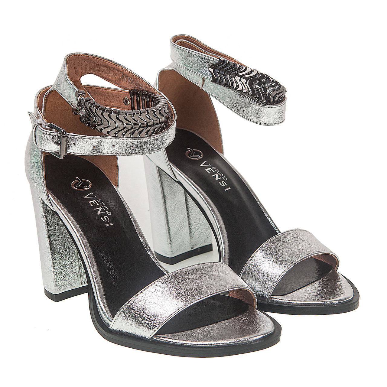 c4c3248c5 Босоножки женские Vensi (серебристые, оригинальные, модные, удобные) -  Интернет-магазин