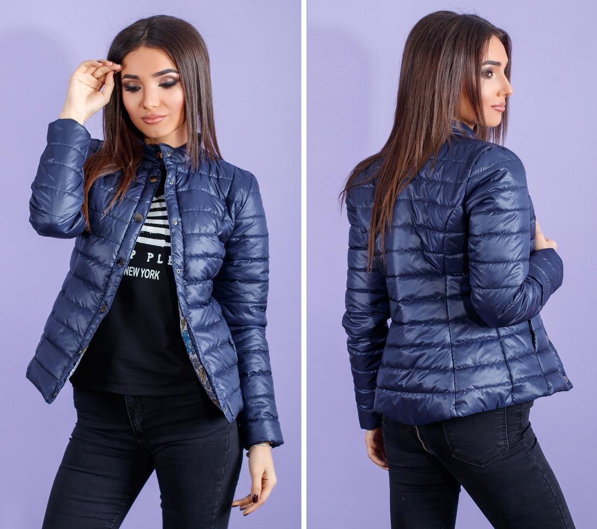 15198c0cc25 Короткая женская куртка весна   осень синтепон 100 - 100 Китайцев в Одессе