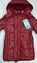 Куртка зимняя для девочки Dominika бордовая (QuadriFoglio, Польша), фото 6
