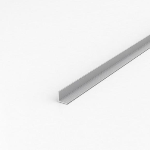 Кутник алюмінієвий 15х15х1 анодований