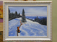 """Картина """"Карпаты зимой"""" , фото 1"""
