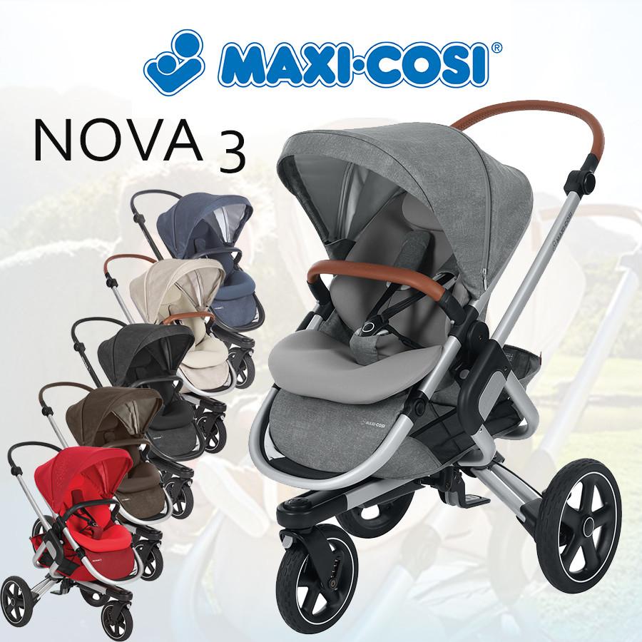 Прогулянкова коляска Maxi-Cosi Nova 3