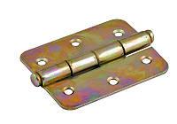 Петля накладная оконная 40 мм оцинкованная Master Tools 92-0761