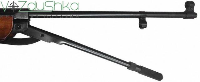 Пневматическая винтовка с подствольным взведением SPA B4