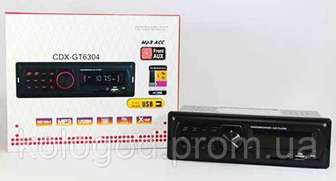 Автомагнитола MP3 GT 6304