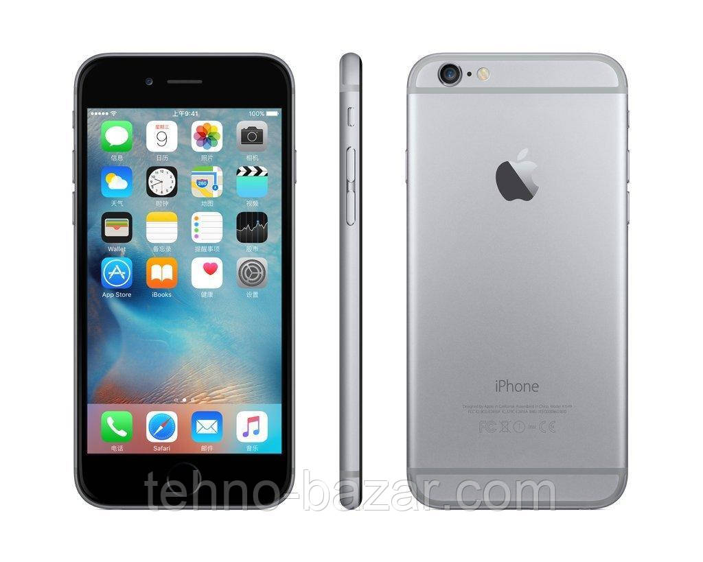 Cмартфон Apple iPhone 6s 32GB Space gray Оригинал Neverlock Гарантия 6 мес!  +стекло