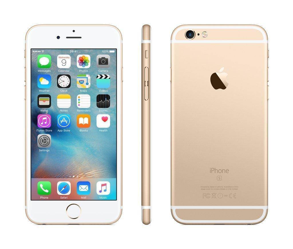 Cмартфон Apple iPhone 6s 32GB Оригинал Gold Neverlock Гарантия 6 мес!  +стекло и чехол!