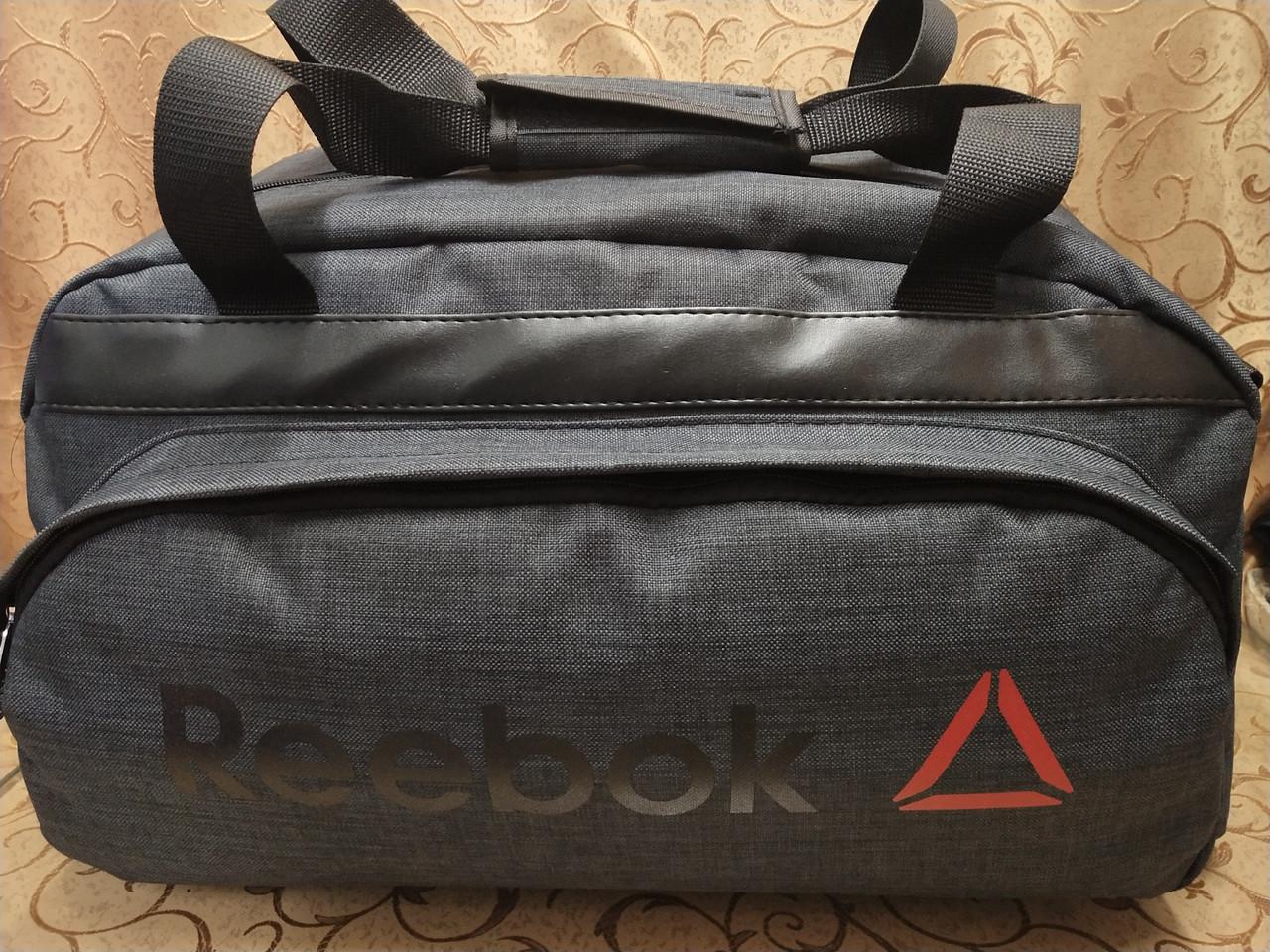 (28*51Качество)Спортивная дорожная REEBOK ткань катион матовый pvc оптом/Спортивная сумка только оптом