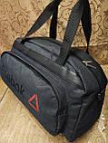 (28*51Качество)Спортивная дорожная REEBOK ткань катион матовый pvc оптом/Спортивная сумка только оптом, фото 2