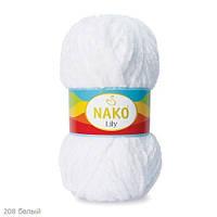 Пряжа Nako Lily Белый