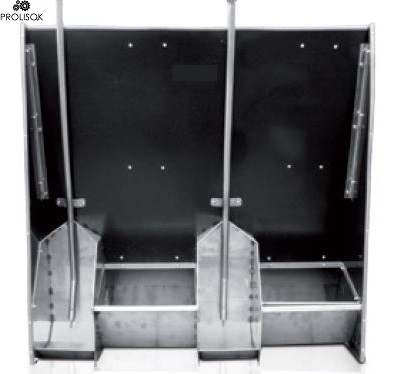 Кормушка для сухого кормления INOX (AP1+1T)