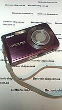 Цифровий фотоапарат Nikon s210 original на запчастини Б. У
