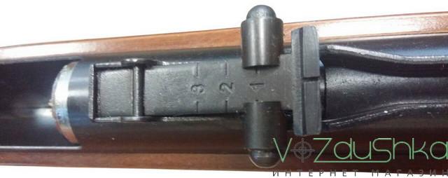 Прицельная планка на винтовке СПА В4