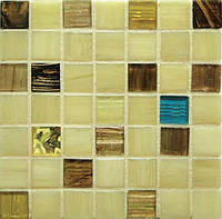 Мозаика с авантюрином и золотом для кухни D-CORE IM-07