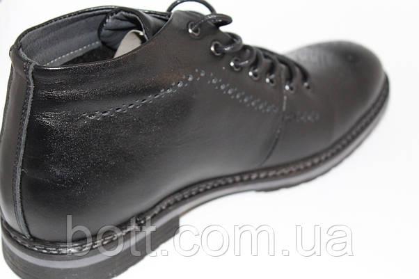 Демисезонные ботинки черные, фото 2