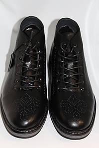 Демисезонные ботинки черные