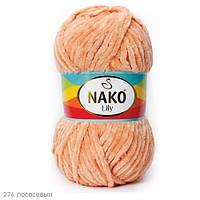 Пряжа Nako Lily Лососевый