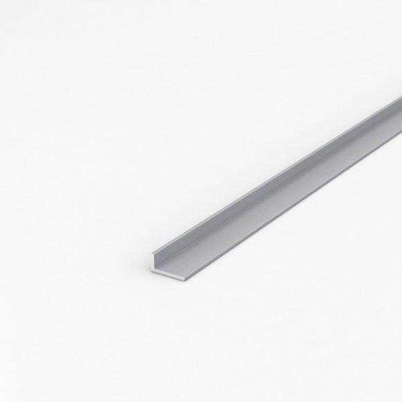 Кутник алюмінієвий 20х10х1 анодований