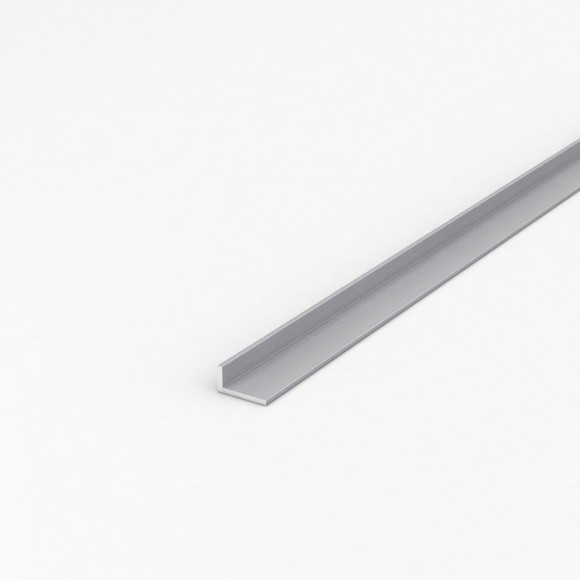 Кутник алюмінієвий 20х10х2 анодований