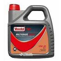 Масло моторное VEEDOL MULTIGRADE SUPER 10W40 4 литра полусинтетика