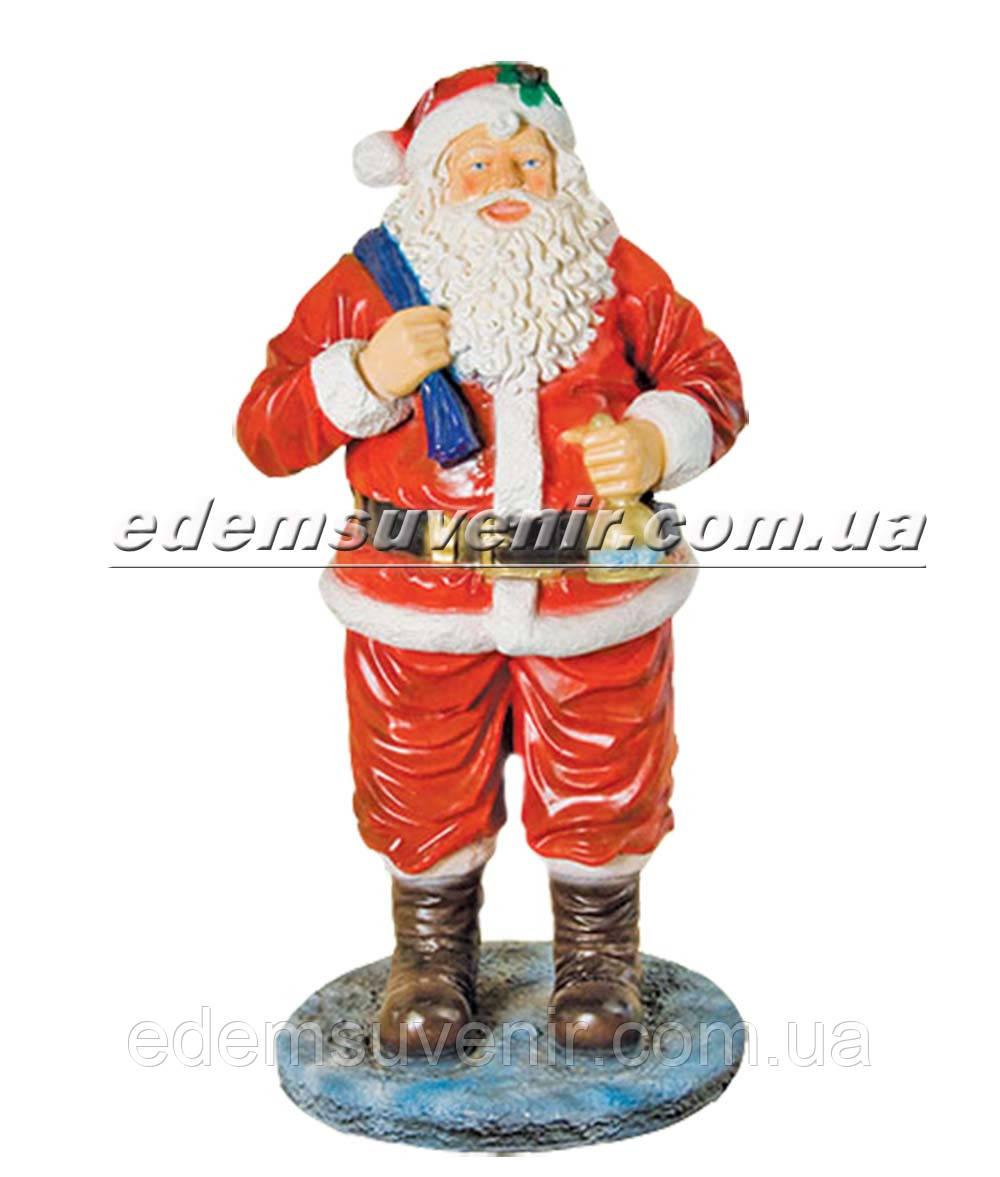 Набивная садовая фигура Дед Мороз Филипинский