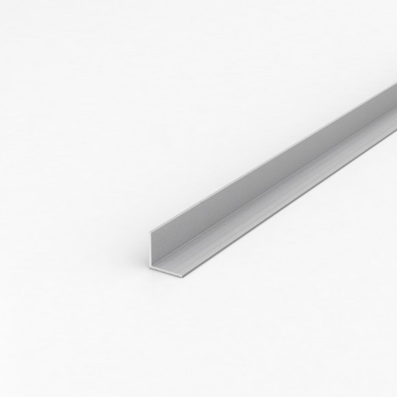Кутник алюмінієвий 20х20х1 анодований