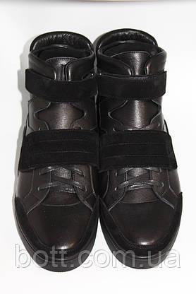 Демисезонные черные ботинки, фото 2