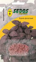 Базилік Фіолетовий (0,2 г інкрустованих насіння) -SEDOS