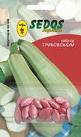 Кабачок Грибовский -37 (2,5г инкрустированных семян) -SEDOS