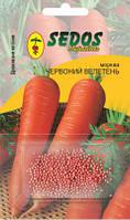 Морковь Красный великан (400 дражированных семян) -SEDOS