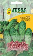 Огурцы Парижский корнишон (50 дражированных семян) -SEDOS