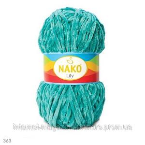Пряжа Nako Lily Зелёнка