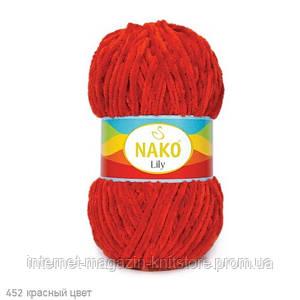 Пряжа Nako Lily Красный
