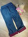 Утепленные джинсы на флисе бордо  (Размер 5Т) Old Navy (США), фото 3