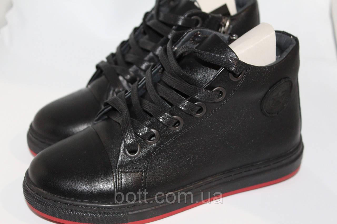 Кеды высокие Converse женские черные