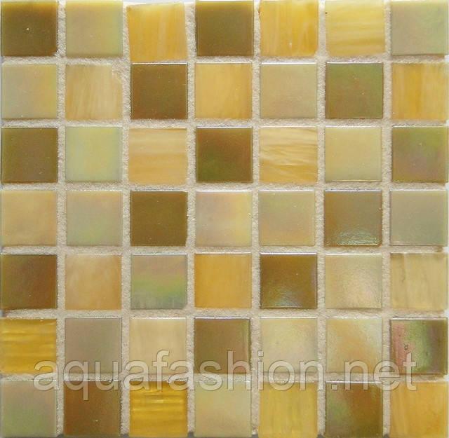 Бежевая мозаика с авантюрином и перламутром для кухни D-CORE IM-08