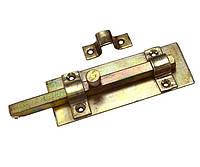 Шпингалет квадратный 140x45 мм оцинкованный Master Tools 92-0345