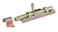 Шпингалет круглый 100x15 мм оцинкованный Master Tools 92-0796
