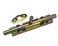 Шпингалет круглый 110x15 мм оцинкованный Master Tools 92-0350