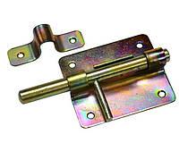 Шпингалет круглый 120x70 мм оцинкованный Master Tools 92-0344