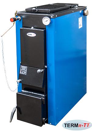 Котел твердопаливний TERMit-TT 18 кВт економ тривалого горіння без обшивки, фото 2