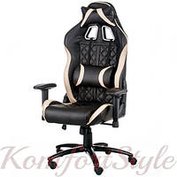 Кресло ExtremeRace 3 black/cream, фото 1