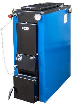 Котел твердотопливный TERMit-TT 32 кВт стандарт длительного горения в обшивке, фото 2