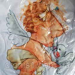 Покрывало плед для крестин Крыжма АНГЕЛ микрофибра 10 расцветок РАЗМЕР 110*135