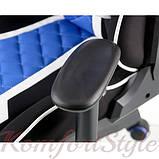 Кресло ExtremeRace 3 black/blue, фото 5