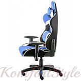 Кресло ExtremeRace 3 black/blue, фото 3